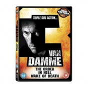 Van Damme Triple  The Order  In Hell  Wake of Death DVD