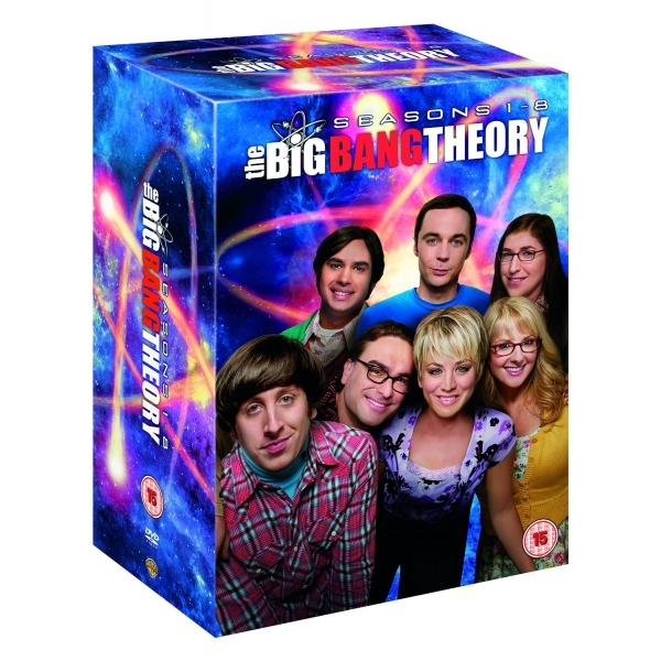 Big Bang Theory - Seasons 1-8 DVD