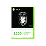Call Of Duty Black Ops II 2 Branded 1200 Microsoft Points Xbox 360