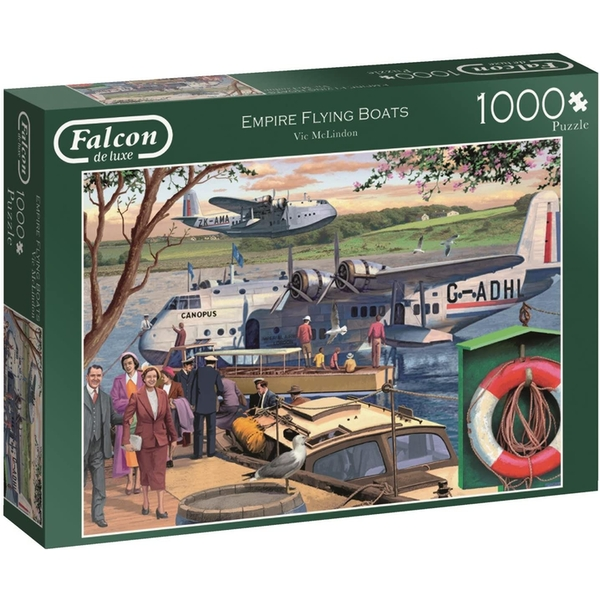 Image of Falcon Empire Flying Boats Jigsaw Puzzle - 1000 Pieces