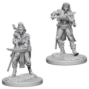 Pathfinder Deep Cuts Unpainted Miniatures (W4) Elf Female Bard