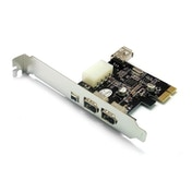 Dynamode PCIX3FW 3 Port FireWire PCI Express Card