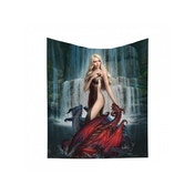Dragon Bathers Throw