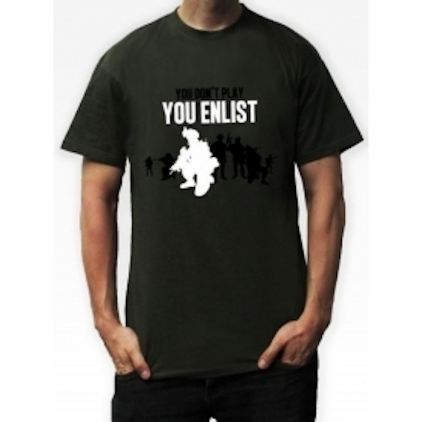 Battlefield 4 Game (Includes China Rising DLC) & You Enlist Khaki T-Shirt Medium PC - Image 3