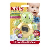 Nuby Digital Bath Time Assorted Thermometer, Clock and Timer