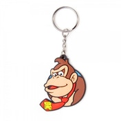 Nintendo Super Mario Bros. Rubber Character Donkey Kong Keychain