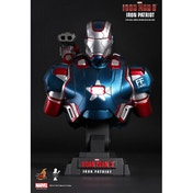 Hot Toys Marvel Iron Man 3 Iron Patriot Collectible Bust