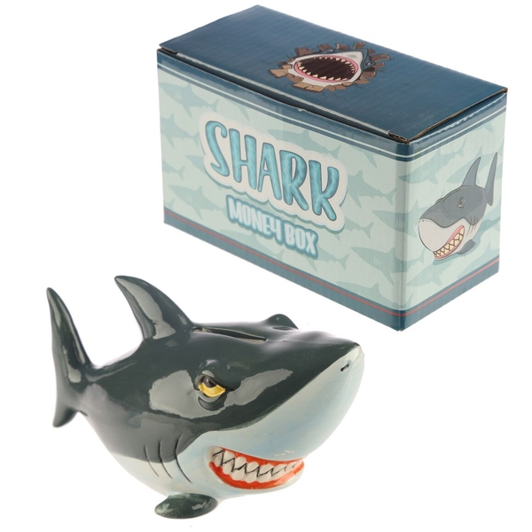 Shark Money Box