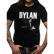 Bob Dylan - Piano Men's X-Large T-Shirt - Black