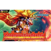 BuddyFight TCG Scorching Sun Dragon Deck