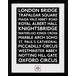 """Transport For London Places 12"""" x 16"""" Framed Collector Print - Image 2"""