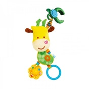B Kids Pull n Rattle Stroller Toy zuzu