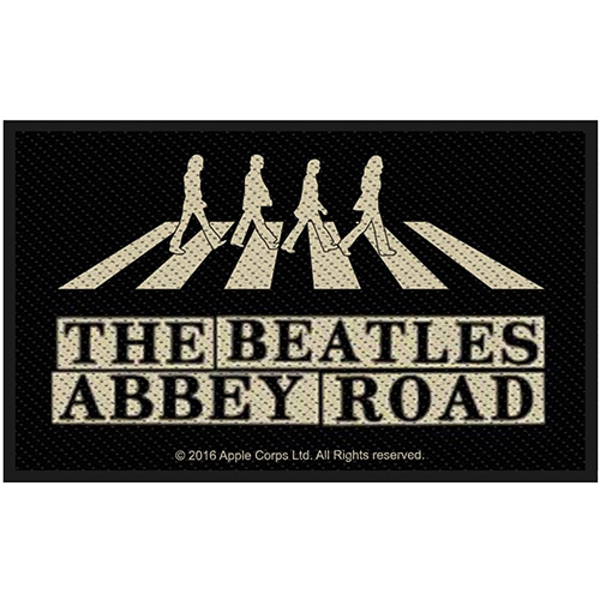 The Beatles - Abbey Road Crossing & Street Sign Standard Patch