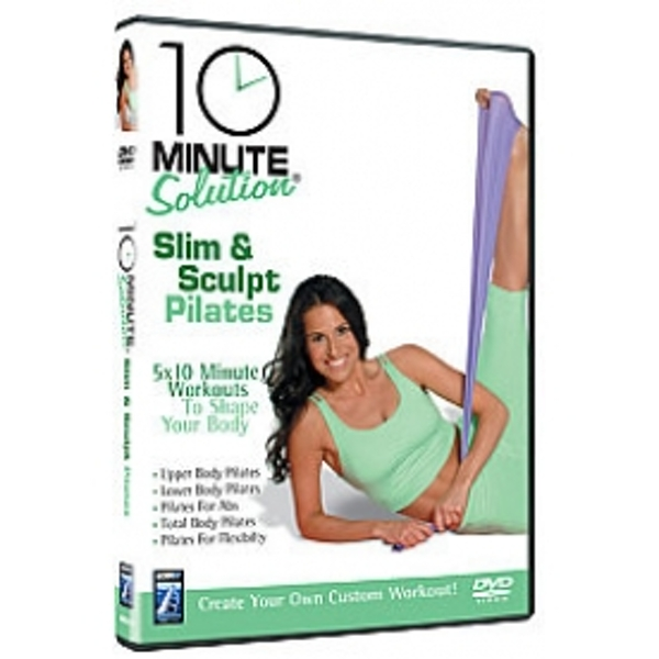10 Minute Solution Slim And Sculpt Pilates DVD