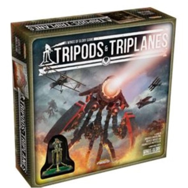 Wings of Glory Tripod Pack Tripods & Triplanes - MK. II Scarab