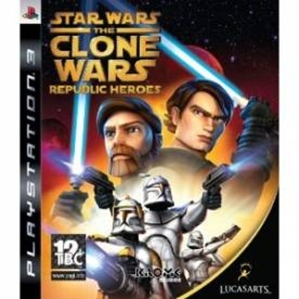 Star Wars The Clone Wars Republic Heroes Game PS3