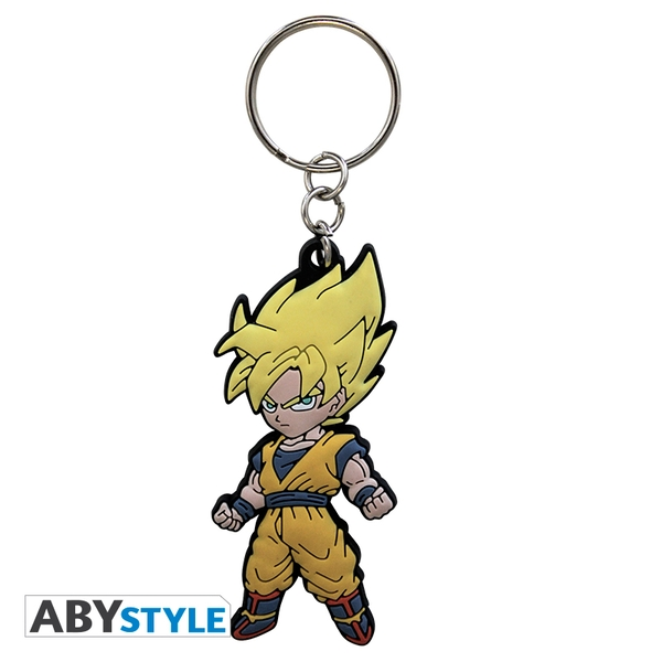 Dragon Ball - Dbz/Goku PVC Keyring