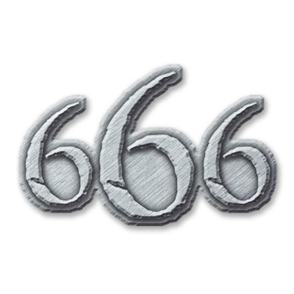 Generic - 666 Pin Badge