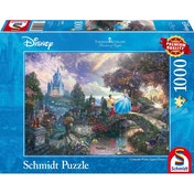 Ex-Display Thomas Kinkade Disney Cinderella 1000 Piece Jigsaw Puzzle Used - Like New