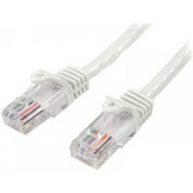 StarTech 45PAT5MWH 5m Cat5e U/UTP (UTP) White networking cable