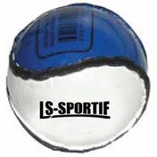 Hurling Club and County Sliotar Ball  Adult  Royal/White
