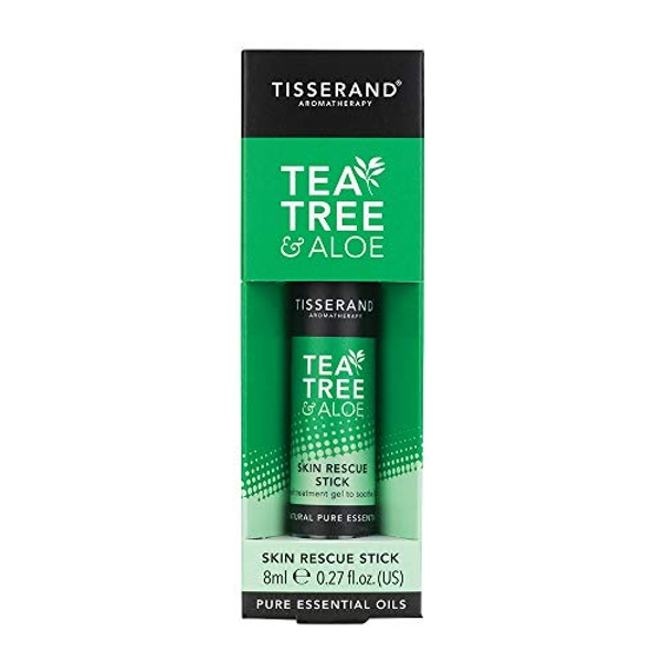 Tisserand Aromatherapy Tea Tree and Aloe Rescue Stick 8ml