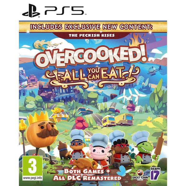 Overcooked! All You Can Eat PS5 Game