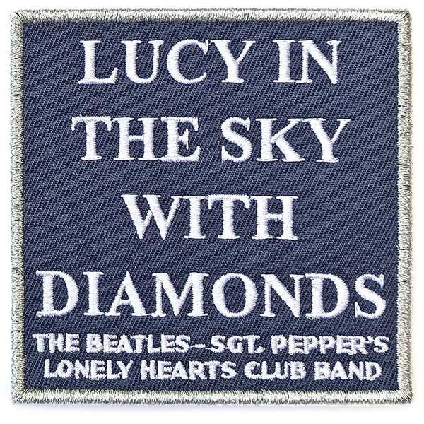 The Beatles - Lucy In The Sky with Diamonds Standard Patch