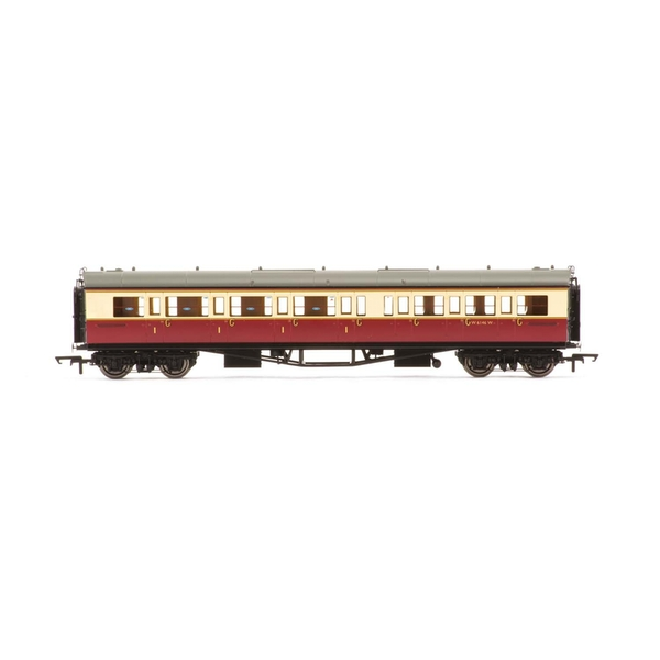 Hornby BR Collett 'Bow-Ended' Corridor Composite (Left Hand) W6146W Era 4 Model Train
