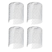 Metal Gutter Guards - Pack of 4