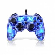 PDP Afterglow AP.1 Wired Controller Glows Blue PS3
