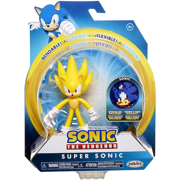 Super Sonic Sonic The Hedgehog Action Figure Shop4megastore Com