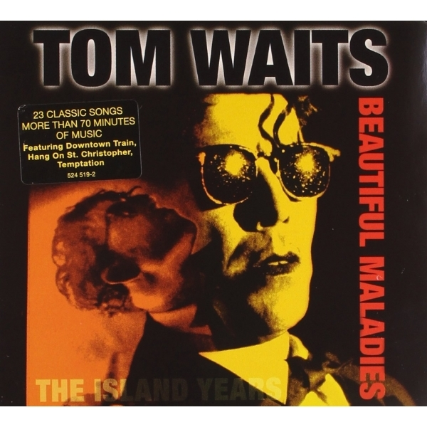 Tom Waits - Beautiful Maladies:  The Island Years CD