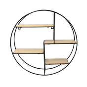 Floating Circle Shelf | M&W 4 Tier