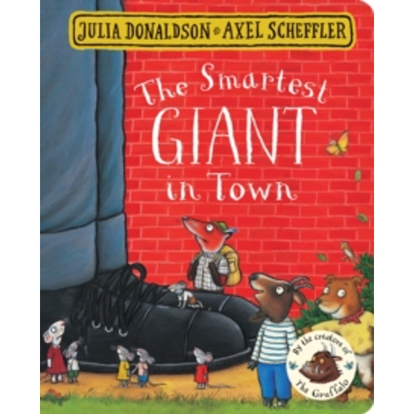 The Smartest Giant in Town (Board book, 2017)
