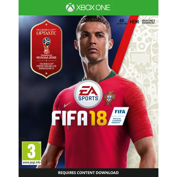 FIFA 18 Xbox One Game [Used] - Image 1