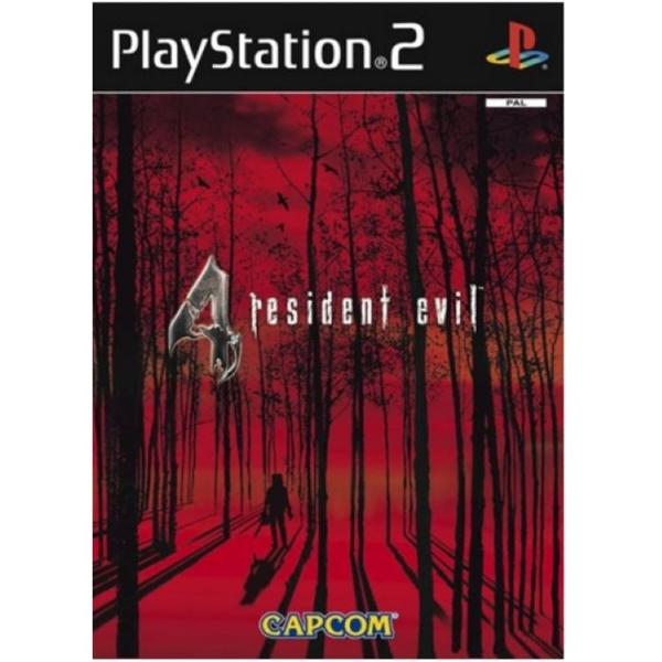 Resident Evil 4 Game PS2 [Used]