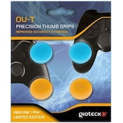 Gioteck OV-T Precision Thumb Grips Blue & Orange For Xbox One/PS4