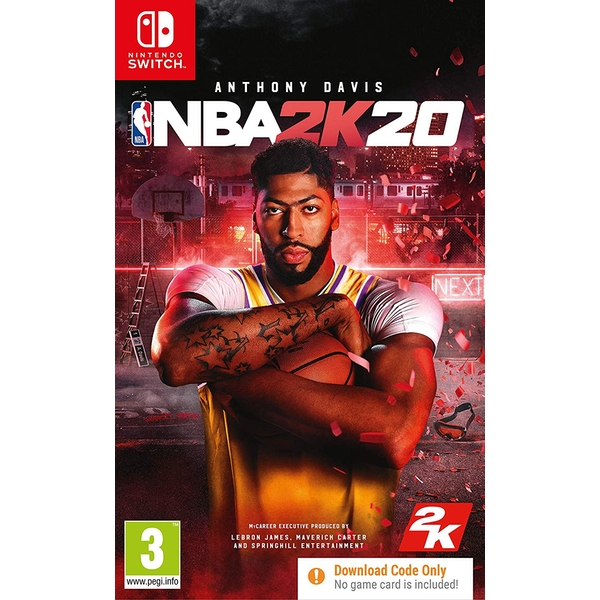 NBA 2K20 Nintendo Switch Game [Download Code In A Box]