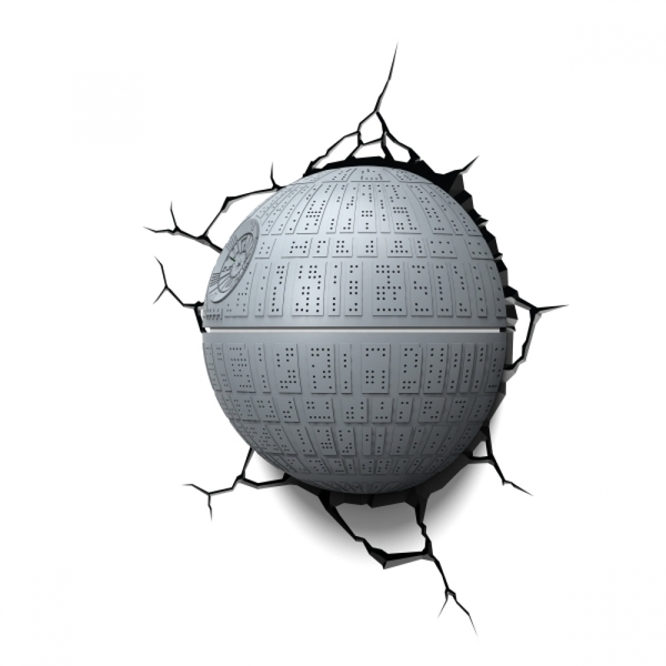 Ex-Display Death Star 3D Deco Light (Star Wars) by 3D Light FX Used - Like New - Image 3