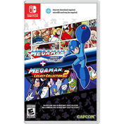 Mega Man Legacy Collection 1 + 2 Nintendo Switch Game (#)