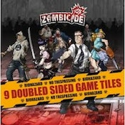 Zombicide 9 Double Sided Tiles
