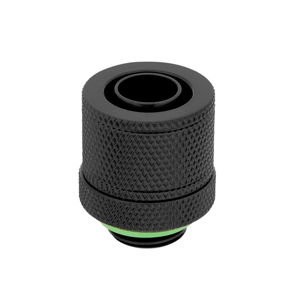 "Corsair Hydro X Series XF Black Compression 10/13mm (3/8"" / 1/2"") ID/OD Fittings - Four Pack"