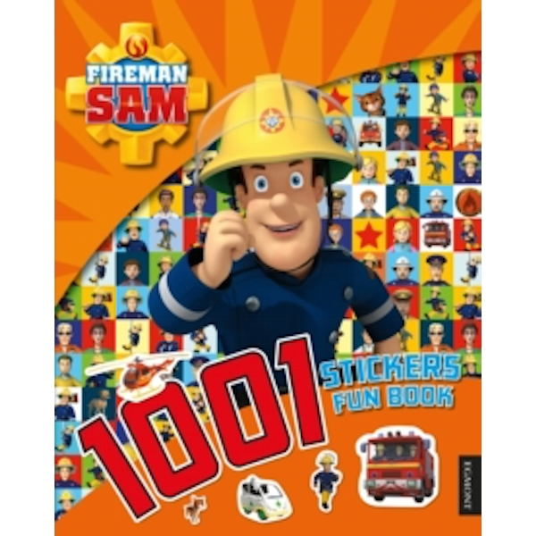 Fireman Sam: 1001 Stickers Fun Book