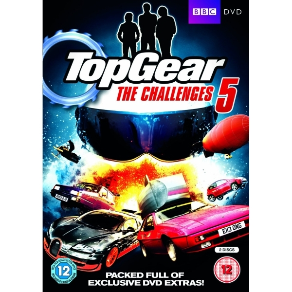 Top Gear The Challenges 5 DVD