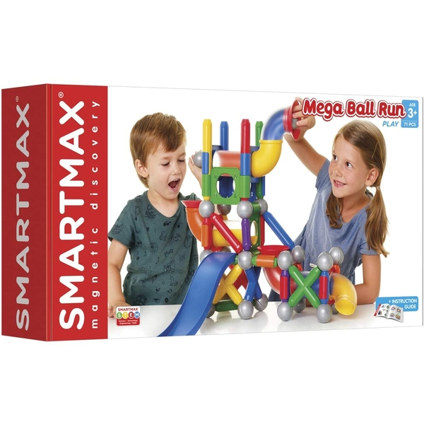 SmartMax Mega Ball Run Magnetic Discovery Playset