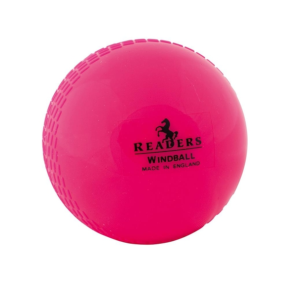 Readers Windball Training Youths Cricket Ball - Pink