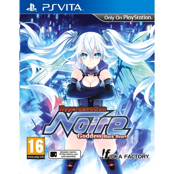 Hyperdevotion Noire Goddess Black Heart PS Vita Game