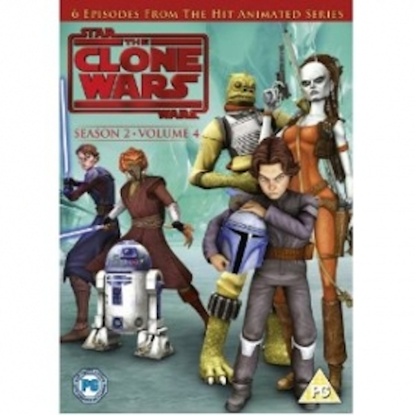 Star Wars Clone Wars Season 2 Volume 4 DVD