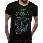Pierce The Veil - Skeleton Coffin X-Large T-shirt